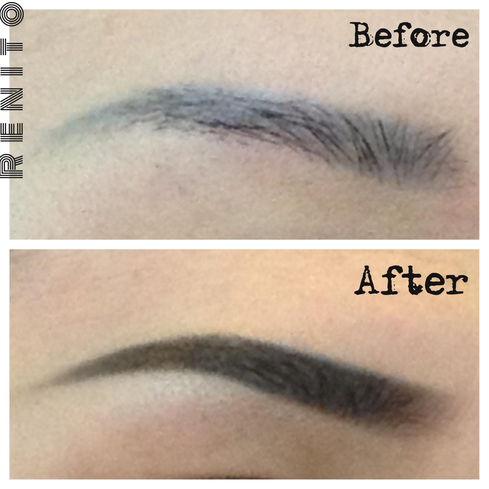 Tutorial eyebrows renitoblog image baditri Images
